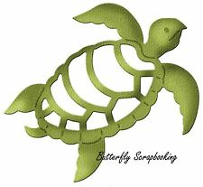SEA TURTLE Petites Die Craft Steel Die Cutting Die Cottage Cutz CCP-028 New