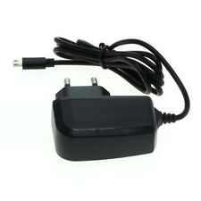 Alimentatore DA VIAGGIO CARICABATTERIE CARICATORE Micro USB per cellulare smartphone navigatore tablet fotocamera