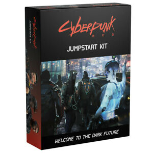 Cyberpunk Red RPG Jumpstart Kit Board Game *IN STOCK READY TO SHIP*