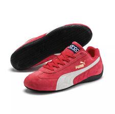 Puma Speedcat OG Sparco Athletic Sneaker Red Suede Men Shoe Size 10