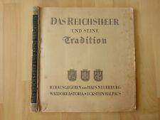 Sammelbilderalbum Das Reichsheer und seine Tradition Einband fehlt vollständig