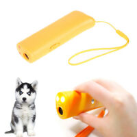 New Ultrasonic Anti Bark Stop Barking Dog Training Repeller Control Trainer A5
