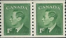 Canada  # 295  King George VI  Omitted Postes Postage  New 1949 Original Gum