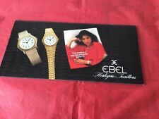 Rare Ebel Watch Catalogue With Price List 1979
