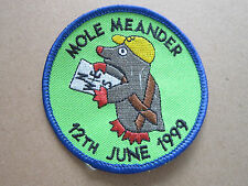 Mole Meander 12th June 1999 Walking Hiking Cloth Patch Badge (L2K)