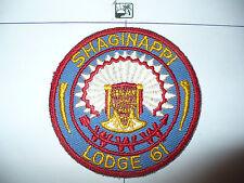 OA Shaginappi Lodge 61,R-2,1950s Patch,73,156,233,244,501,635, Badger Council,WI