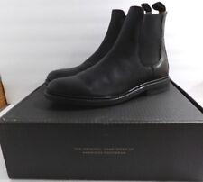 NIB Frye Mens Black Leather Seth Chelsea Ankle Boots Size 9.5 D Medium