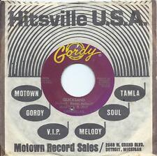 MARTHA & THE VANDELLAS: Sables mouvants/darling i hum Notre chanson: US GORDY: Soul