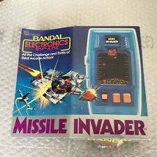 1980# BANDAI ELECTRONICS SUPER GALAXY MISSILE INVADER   LED LSI  GAME RARE#NIB