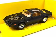 PONTIAC FIREBIRD TRANS AM 1979 1:43 NEW 94239 MATT BLACK LUCKY ROAD SIGNATURE
