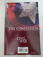 CIVIL WAR THE CONFESSION #1 (2007) MARVEL COMICS CAPTAIN AMERICA ALEX MALEEV ART