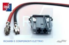 Connettore Grigio Motorino Riscaldamento Resistenza Ventola Fiat-Opel-Citroen