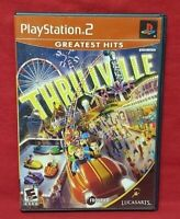 Thrillville - PS2 Playstation 2 Game Tested Working Complete
