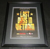 Last Days in Vietnam Framed 11x14 ORIGINAL Advertisement PBS Rory Kennedy