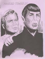 STAR TREK Fanzines NAKED TIMES 1-32 Kirk/Spock, K/S, Gay Romance, Erotica, ship