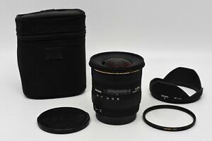 Sigma AF 10-20mm F/4-5.6 EX DC HSM Wide Angle Zoom for Canon EF Lens