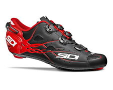SIDI SHOT Road Cycling Shoes - Matt Black/Red [Size: 40~47 EUR]