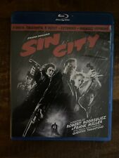 Sin City (Blu-ray, 2011, 2-Disc Set, Recut, Extended, Unrated)