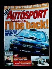 Magazine - Autosport - 30 Nov 2000 - Rally GB Special - McRae, Burns, Gronholm