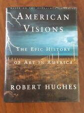 American Visions - Epic History of Art in America, Robert Hughes HB 1st SIGNED