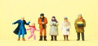 Preiser 14037 Passanten, winterliche Kleidung, H0