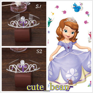 Sofia the First Princess Sofia Silver Crown Cosplay Props Headband Accessories