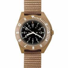 US Military Issue Pilot Navigator Aviation Sterile Dial Watch Marathon DT New H3