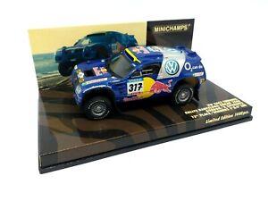 MINICHAMPS 1/43 Rally Barcelona Dakar 2005 Gordon/Zizewitz 436055317