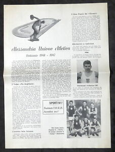 Alessandria Unione Atletica - Notiziario 1946 - 1947