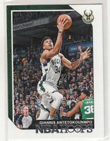 GIANNIS ANTETOKOUNMPO 2018-19 Panini NBA Hoops #4 Milwaukee Bucks Mint