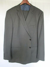 Sartoriale Gray Suit 50L 42x33 Super 150s Wool Master Tailoring Crafted in Italy