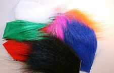 ICE FLIES. Fly tying material. Icelandic horse hair. 16 colors. Arctic runner