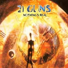 21 Guns - Nothing's Real (CD, 2000, England) UPC #5036228970363 RARE