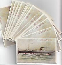 "Steamship ""MANITOU"" Northen Michigan Transit c° Lot  32 CPA"