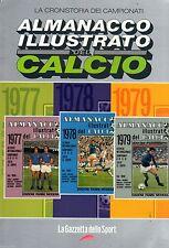 ALMANACCO ILUSTRATO.DEL CALCIO 1977-1978-1979=PANINI/GAZZETTA DELLO SPORT