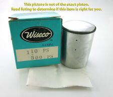 "Fuji 80 Vintage Wiseco Motorcycle Piston 49.5mm .060"" 320P6"