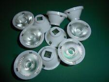 10pcs LED LENS 32.5mm 25 degree PMMA LENS, NEW