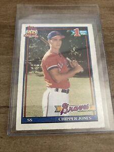 1991 Topps Chipper Jones Rookie Card