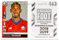 "RARE !! Sticker ROOKIE Boubakary SOUMARE ""FRENCH FOOT 2018-2019"" Panini"