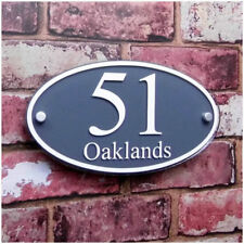 Personalise Acrylic House Number Sign Door Apartment  Street Address