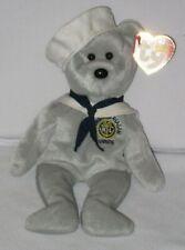 Ty Beanie Baby - Ronnie USS Ronald Reagan Sailor - DOB February 6, 2003 -  MWMT