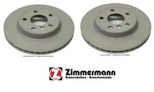 For Mini Cooper 14-16 Base Gas DOHC Pair Set of 2 Front Disc Brake Rotors 282x22