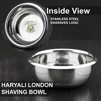 High Grade German Stainless Steel Polished Shaving Soap Bowl - NEW Shaving items