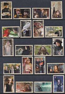 US - #4825-44  -  Harry Potter -  set of 20 - 2013 - used - F792