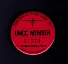 Thunderbird Invitational Classic 1966 golf pinback button- Mason Rudolph winner!