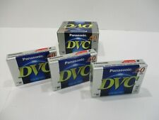 (3) NEW Panasonic Digital Video Cassette Tape DVC Mini DV AY-DVM60EJ