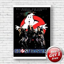 Ghostbusters 1984 Film Movie Poster A3 Un-Framed Art Print V6