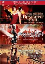 Resident Evil 3 DVD SET - Extinction, Apocalypse