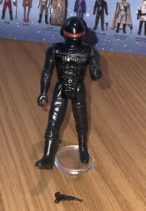 Vintage Star Wars Imperial Gunner (last 17) Figure, With Great repro weapon