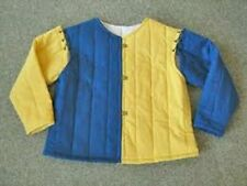 Yellow & Blue Color Medieval Fantasy Gambeson Armour Nice Look Dress